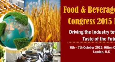 Food & Beverage Global Congress 2015 Europe