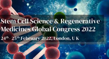 Stem Cell Science & Regenerative Medicines Global Congress 2022