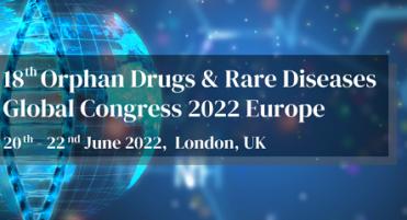 18th Orphan Drugs & Rare Diseases Global Congress 2022 Europe